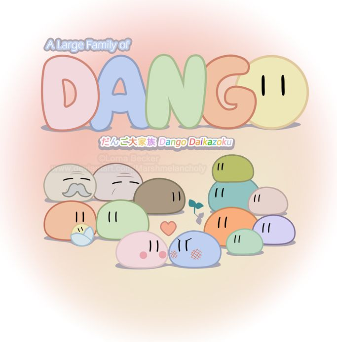 Dango Daikazoku -- one inspiration for David and my ...