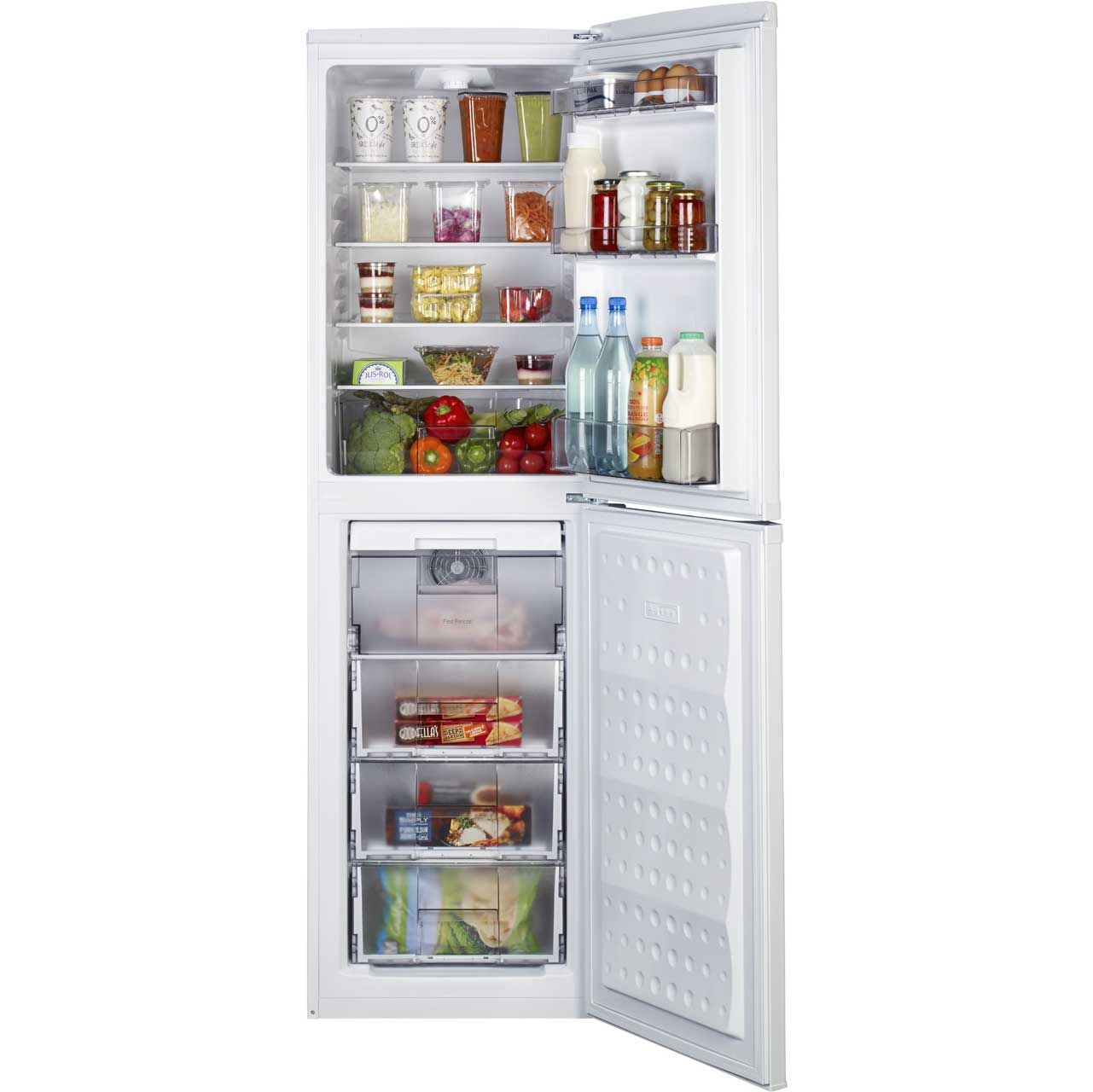 Beko RCF582W 50/50 Frost Free Fridge Freezer - White
