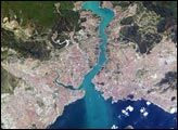 Istanbul, Turkey: The Crossroads of Europe and Asia : Image of the Day : NASA Earth Observatory