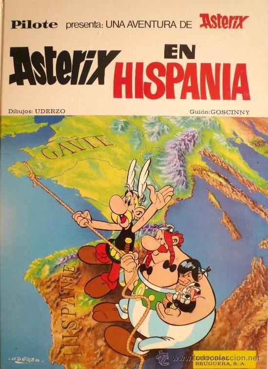 Asterix Asterix En Hispania Editorial Bruguera 1970 Graphic Novel Books Comics