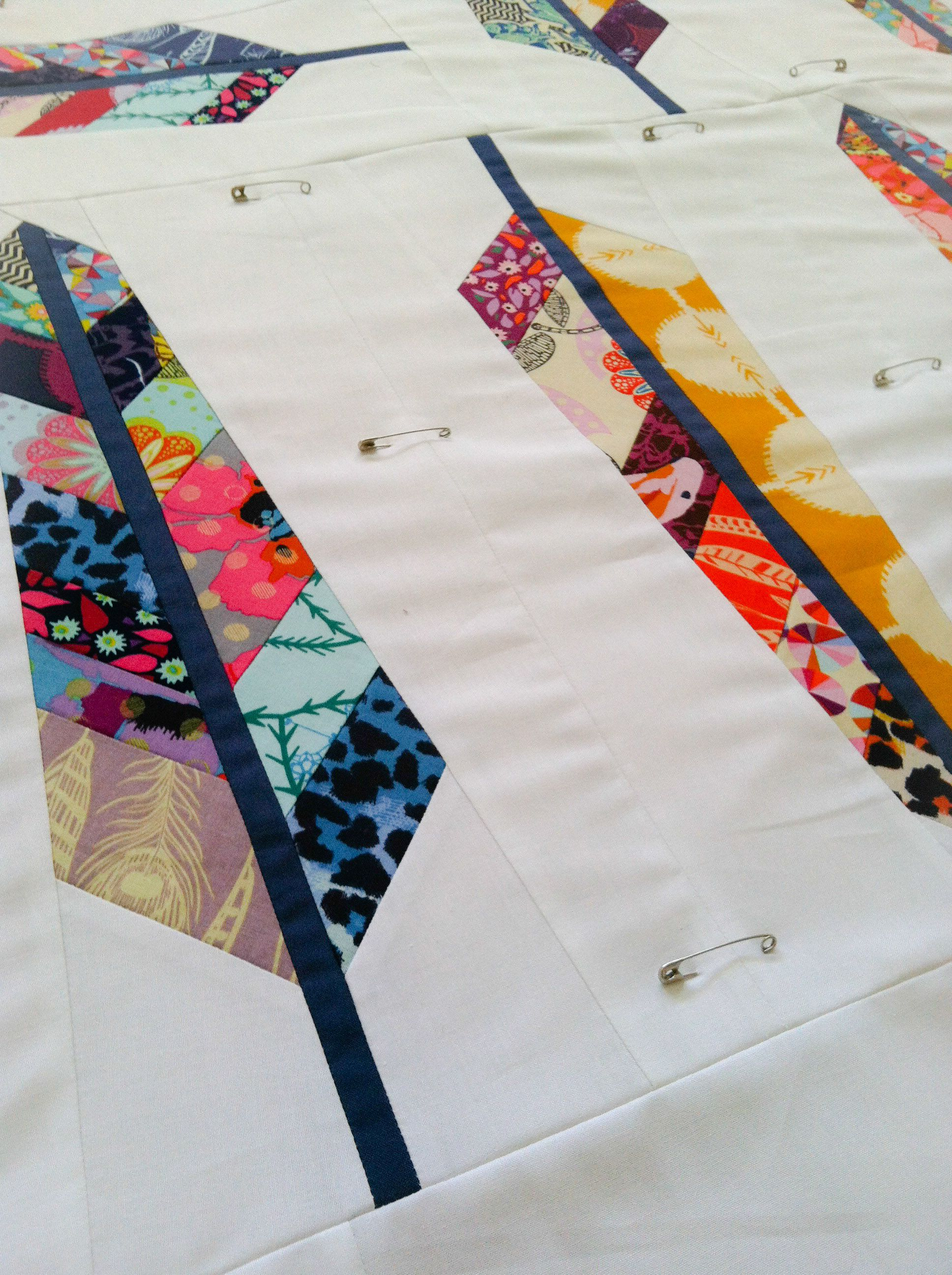 Feather Quilt Feathers Tutorial And How To Use Scraps And Fat