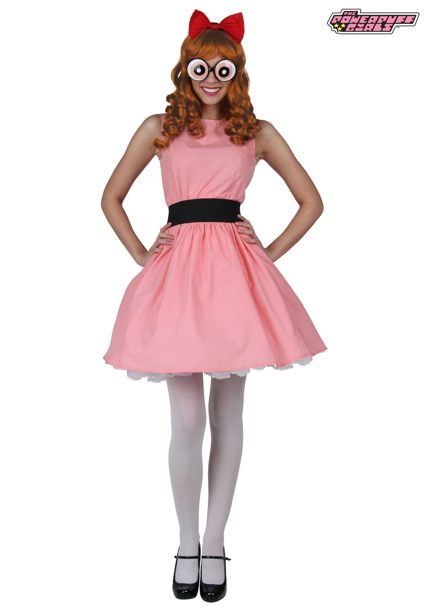 Blossom Powerpuff Girl Costume Powerpuff girls costume