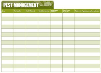 pest management plan template - hey mark can you make me a binder for tracking everything