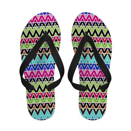 Shapes #43 - Womens Flip Flops