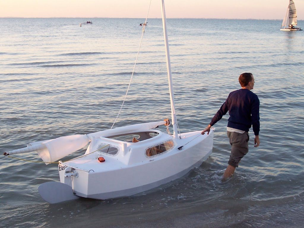 Matt Laydes; Elusion, the boat I am currently building, Exactly the same excepting I have ...