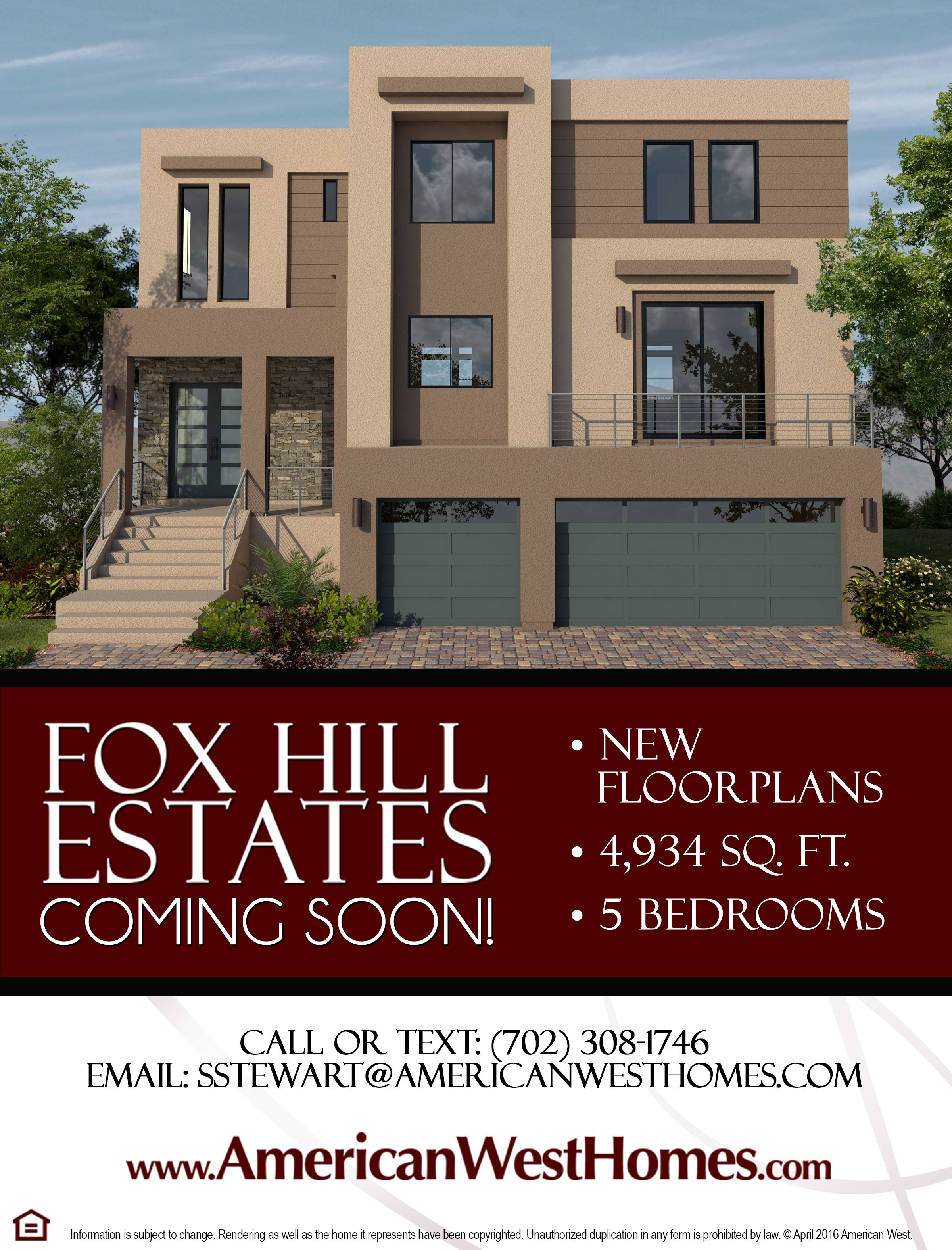 A sample of our new Fox Hill Estates community located in Highlands ...