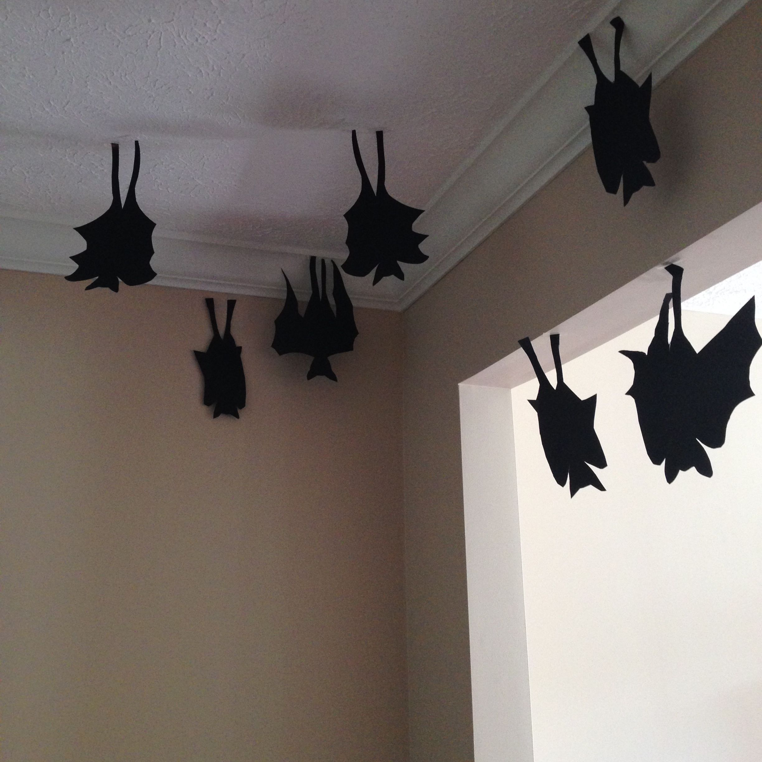 Easy Bat Cut Outs For Your Ceiling