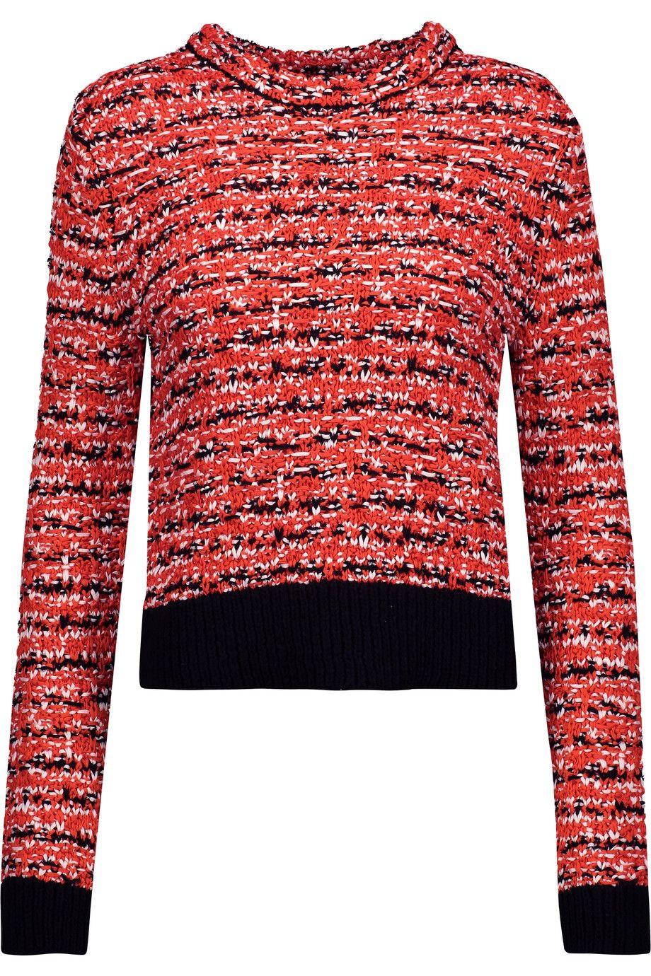 e8c932b561f6a1 RAG   BONE Viola Cotton-Blend Bouclé-Tweed Sweater.  ragbone  cloth  sweater