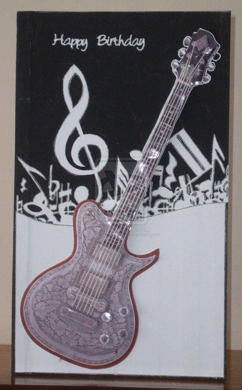 Guitar happy birthday