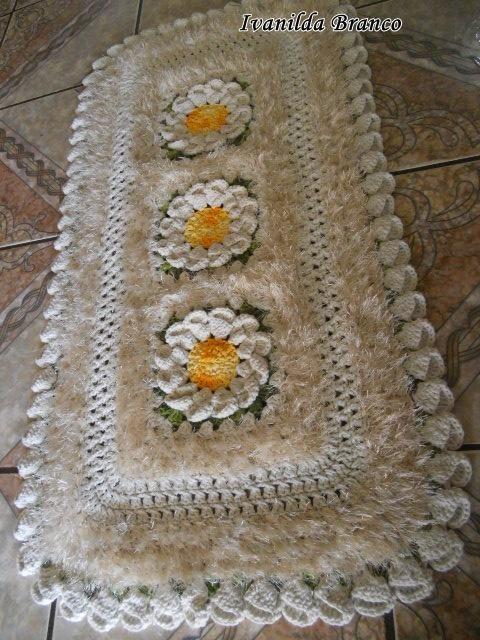 Tapete de croche em barbante pesquisa google tapetes for Tapetes de crochet