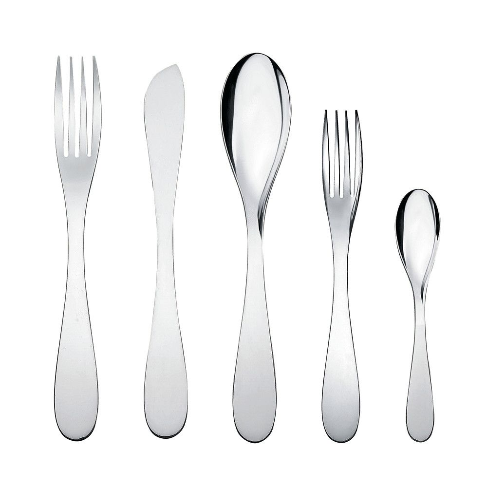 Discover the Alessi Eat.It Cutlery Set - 5 Piece at Amara