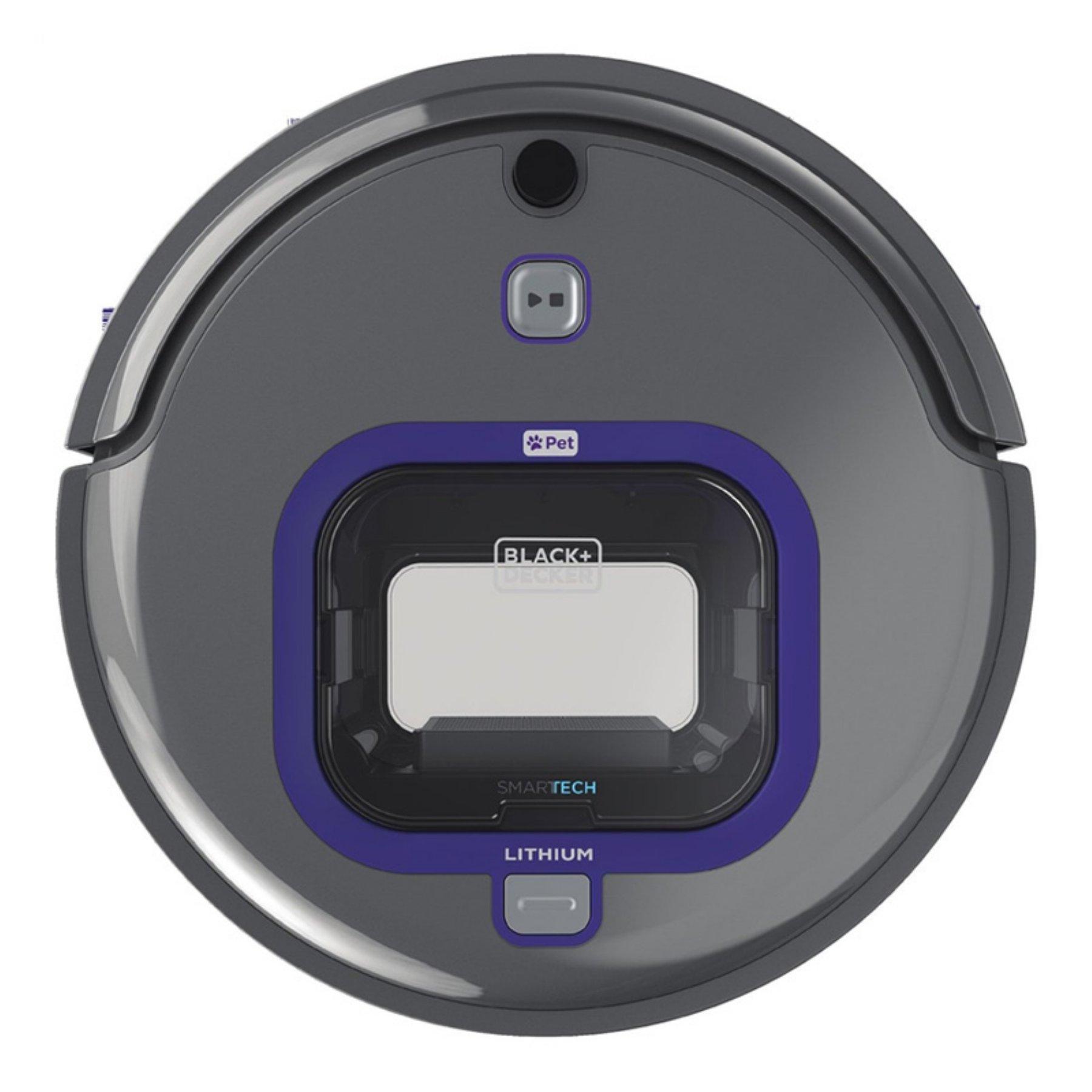 Black & Decker HRV420BP07 Pet Lithium Robotic Vacuum with