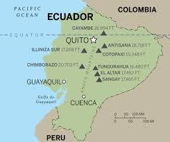 cotopaxi volcano map - Google Search | galapagos | Cotopaxi volcano on