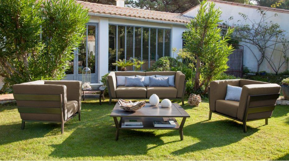 Le salon bas 4 places Sofa - Gamme Océo | SALON DE JARDIN ...