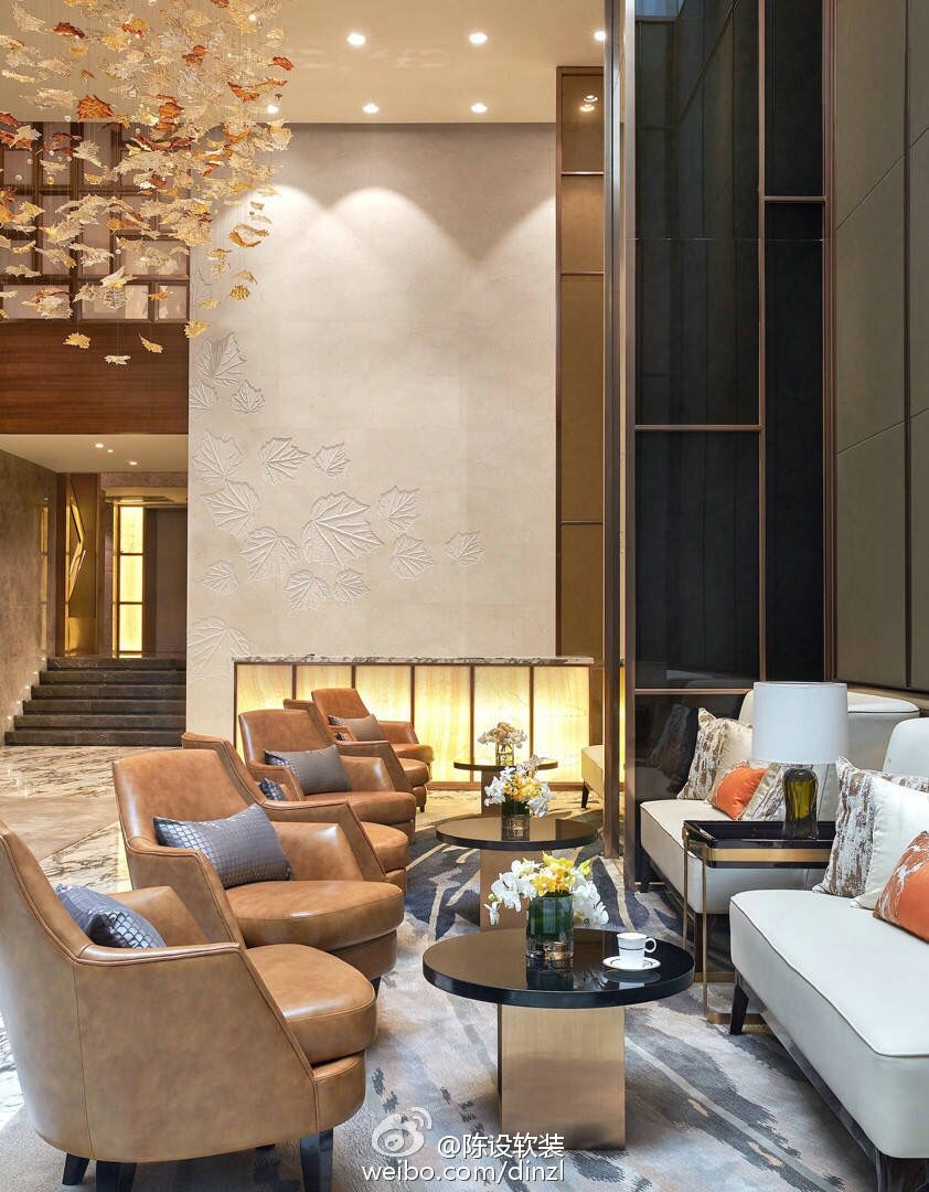 Commercial Interior Design, Commercial Interiors, Lobby Lounge, Hospitality  Design, Public Spaces, Apartment Interior, Design Firms, Waiting Area, ...