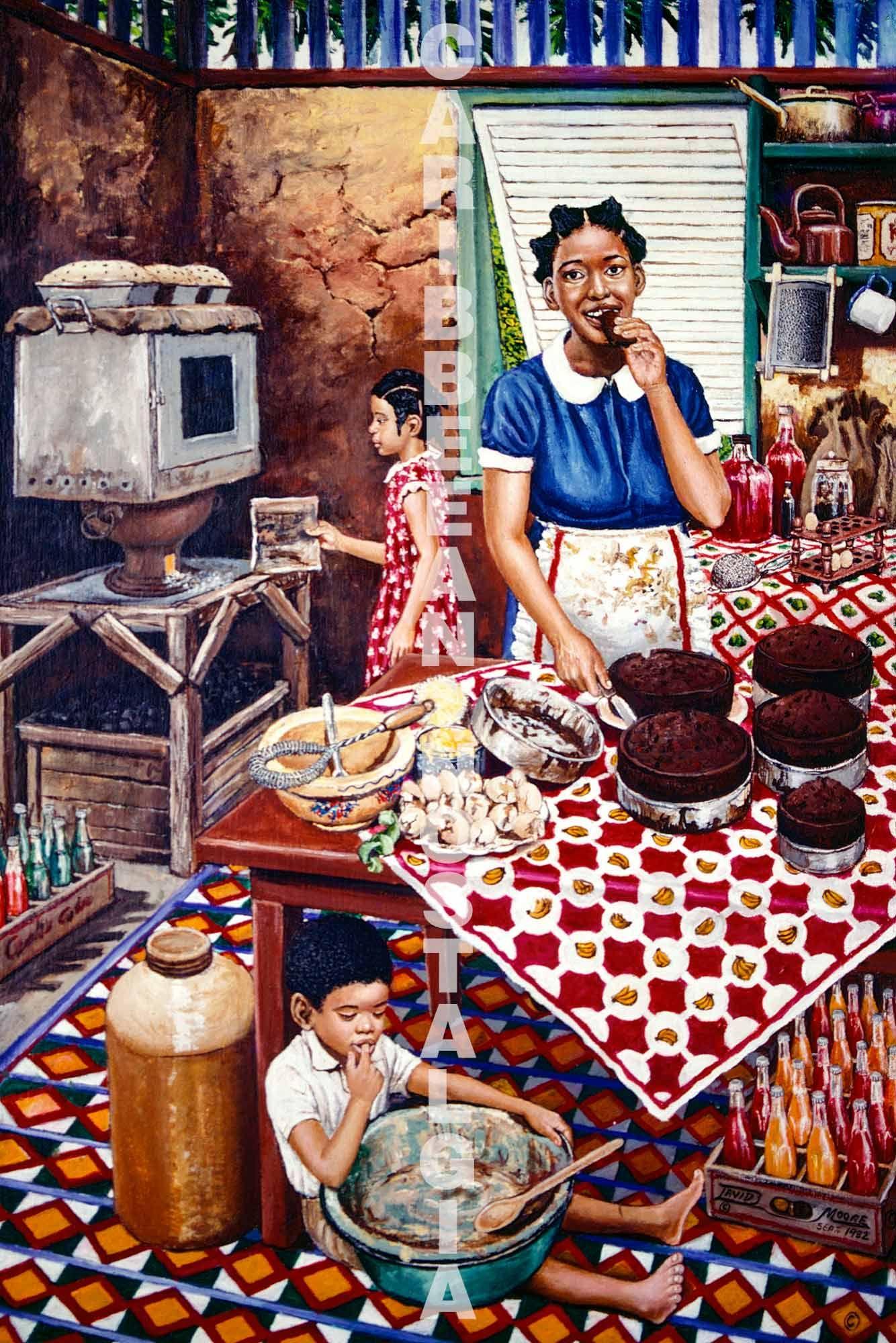 Caribbean Nostalgia   Caribbean art, Art, African american art