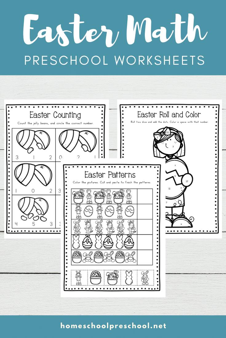 Easter Math Worksheets For Preschool Easter Math Worksheets Easter Math Math Worksheets [ 1102 x 735 Pixel ]