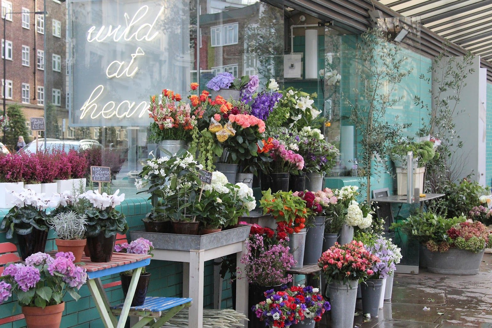 Wild At Heart Flower Shop (With images) Flower shop