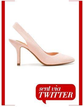 Zara basic high-heel slingback