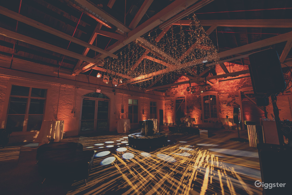 Modern Historic BK Warehouse for Events & Shoots