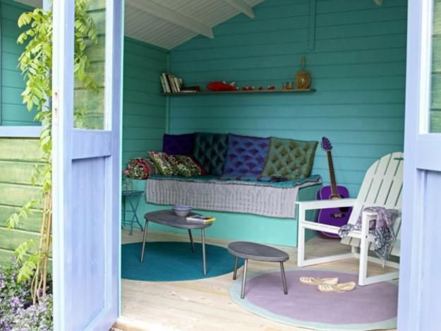 Small Garden House Design And Interior Decorating Ideas For Outdoor Living In Style