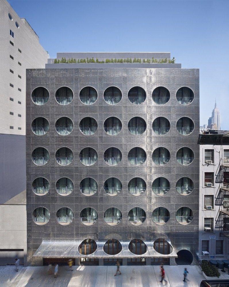 Gallery Of Dream Downtown Hotel Handel Architects 25 Arquitectura Hotel De Diseno Disenos De Edificios