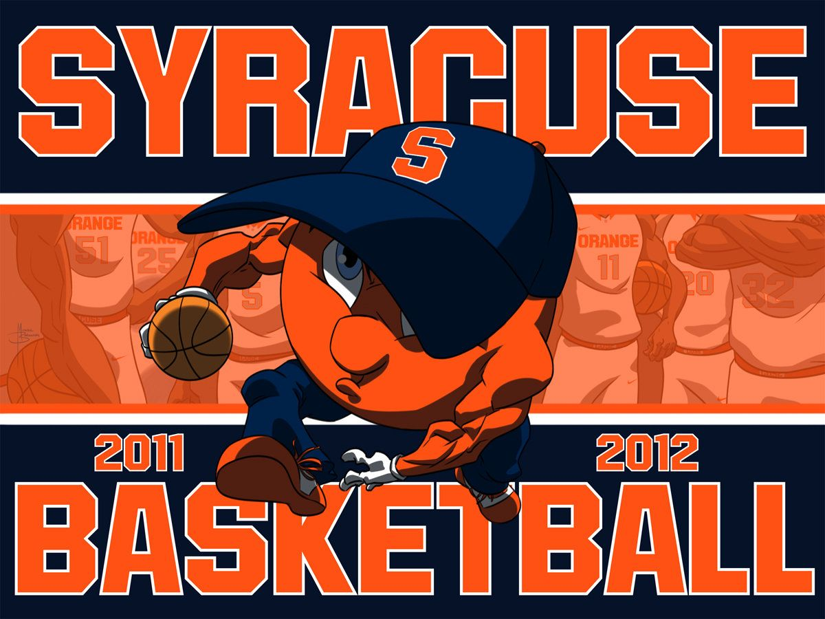 Basketball Cartoon The Season Is Here Syracuse Logos Images