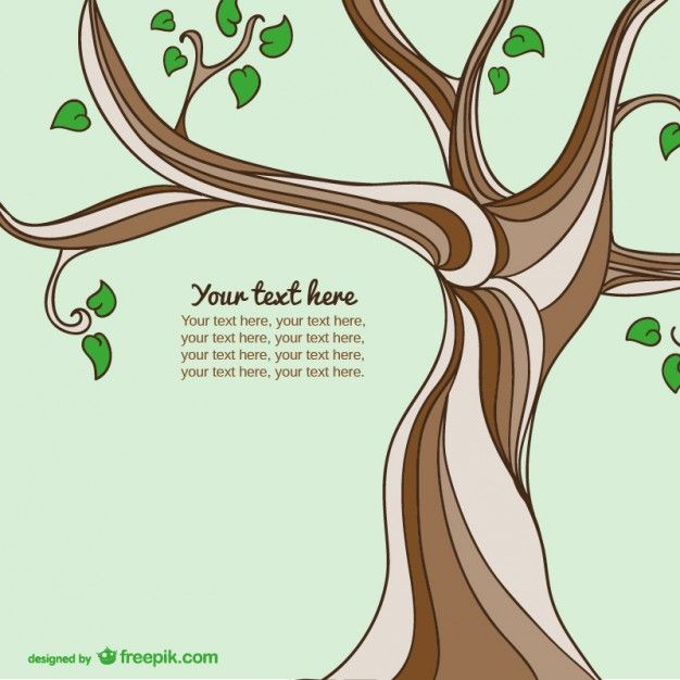 Um eine Vorlage von einem Baum mit Ast