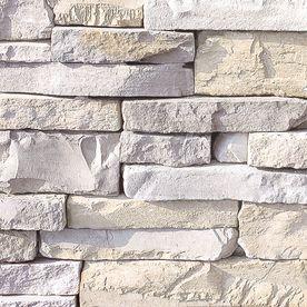 Coronado 12 5 sq ft smokey grey dry stack stone veneer - Faux stacked stone interior walls ...