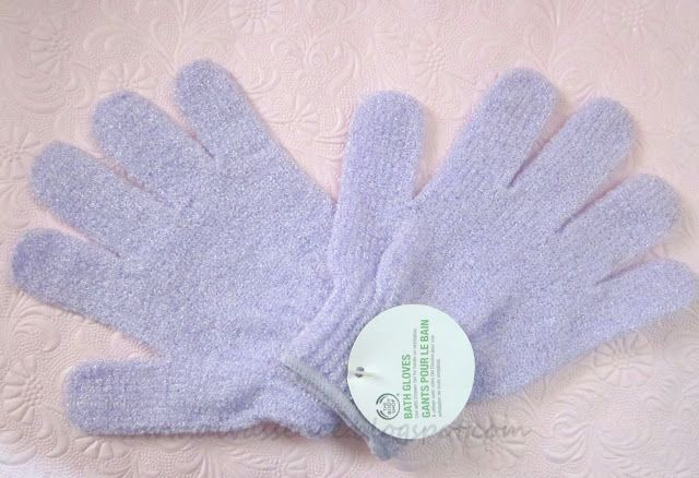 Divassence!: The Body Shop Bath Gloves: Review