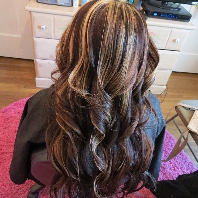 Best 25 Partial Blonde Highlights Ideas On Pinterest