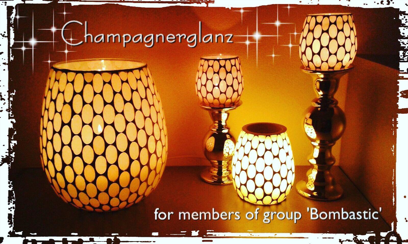 Eleganz Mit Glanz Champagnerglanz Kerzen Shop Partylite