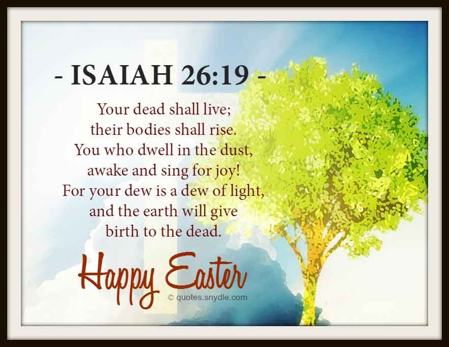 Easter Bible Quotes Quotes And Sayings Positive Inspirational