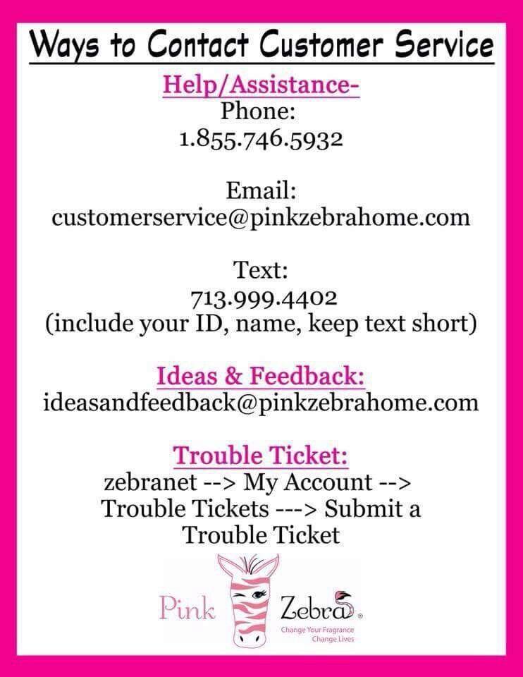 Pink Zebra Customer Service Contact Numbers Pink Zebra