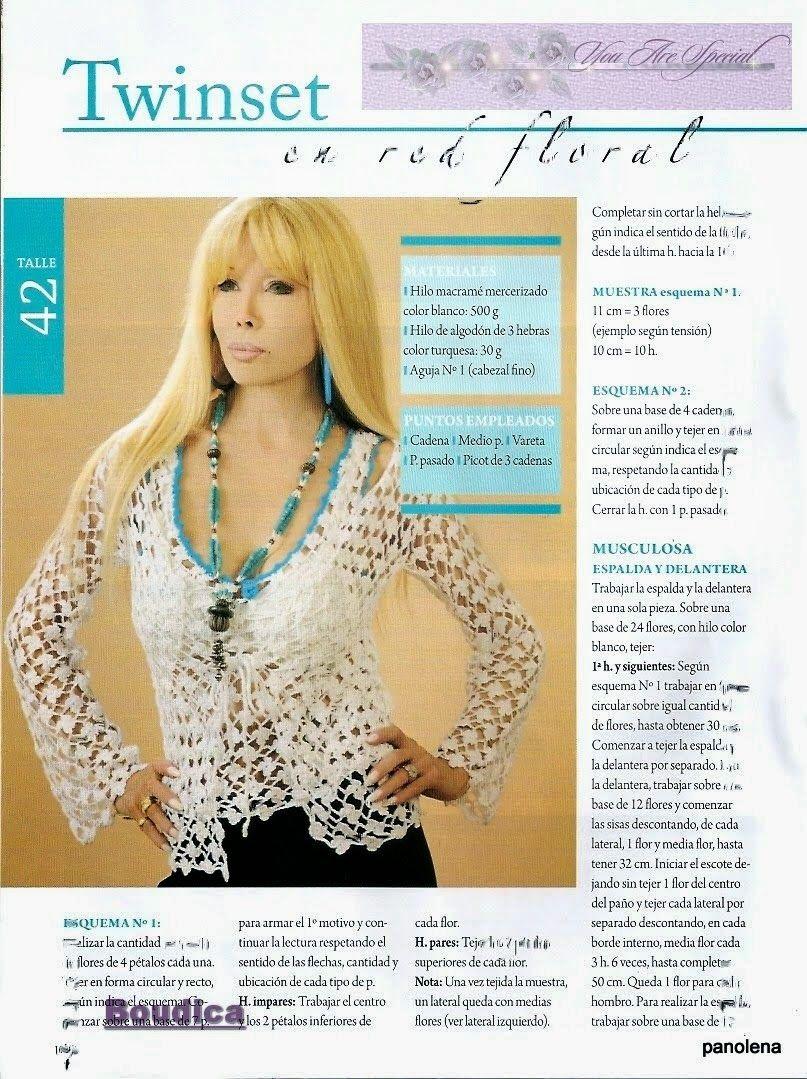 Revista Crochet Paso a Paso Completa Croche