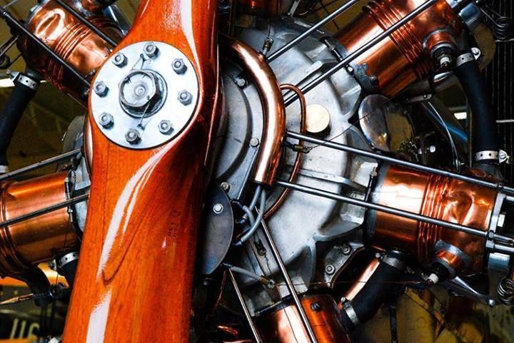 redhousecanada:  proteus7: Pratt and Whitney radial engine