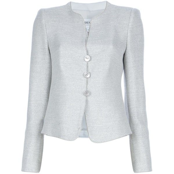 ARMANI COLLEZIONI Three button blazer found on Polyvore