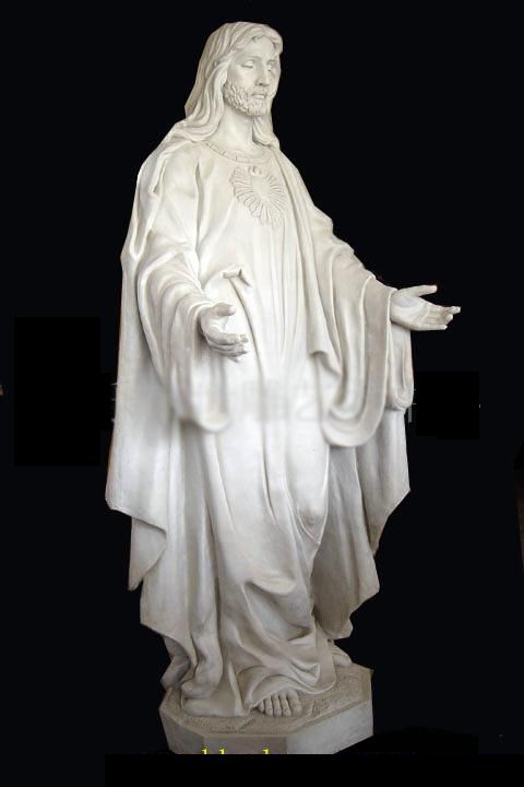 Marble Sculpture Jesus Statue Statue Sculpture