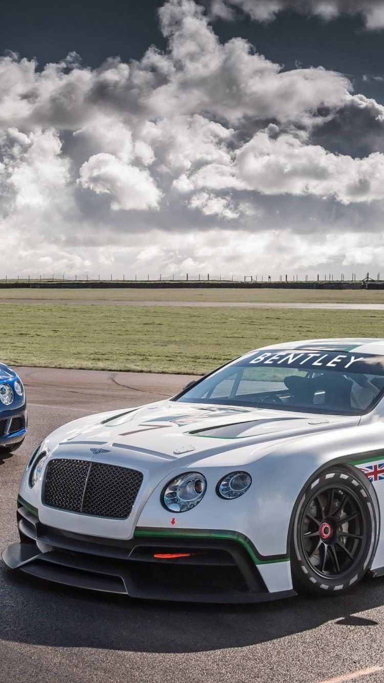 2014 Bentley Continental Gt Race Car Iphone 6 Wallpaper Bentley