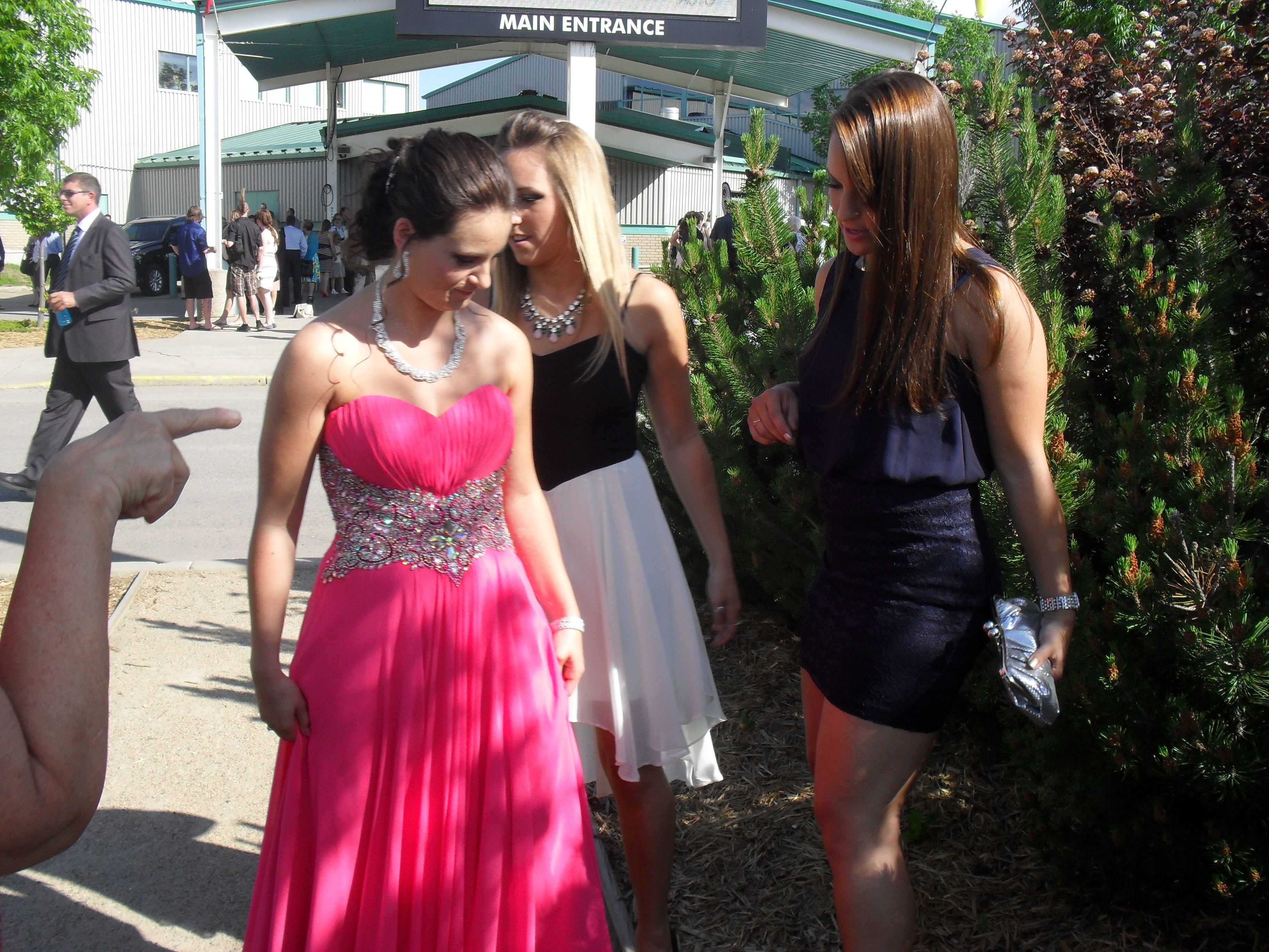 Kady S Grade 12 Grad Dress June 2015 Gorgeous Pink Color On Her