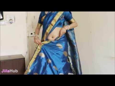 9d7f4bc15e How To Wear South Indian Saree/2 States South Sari Wearing Tutorial ...