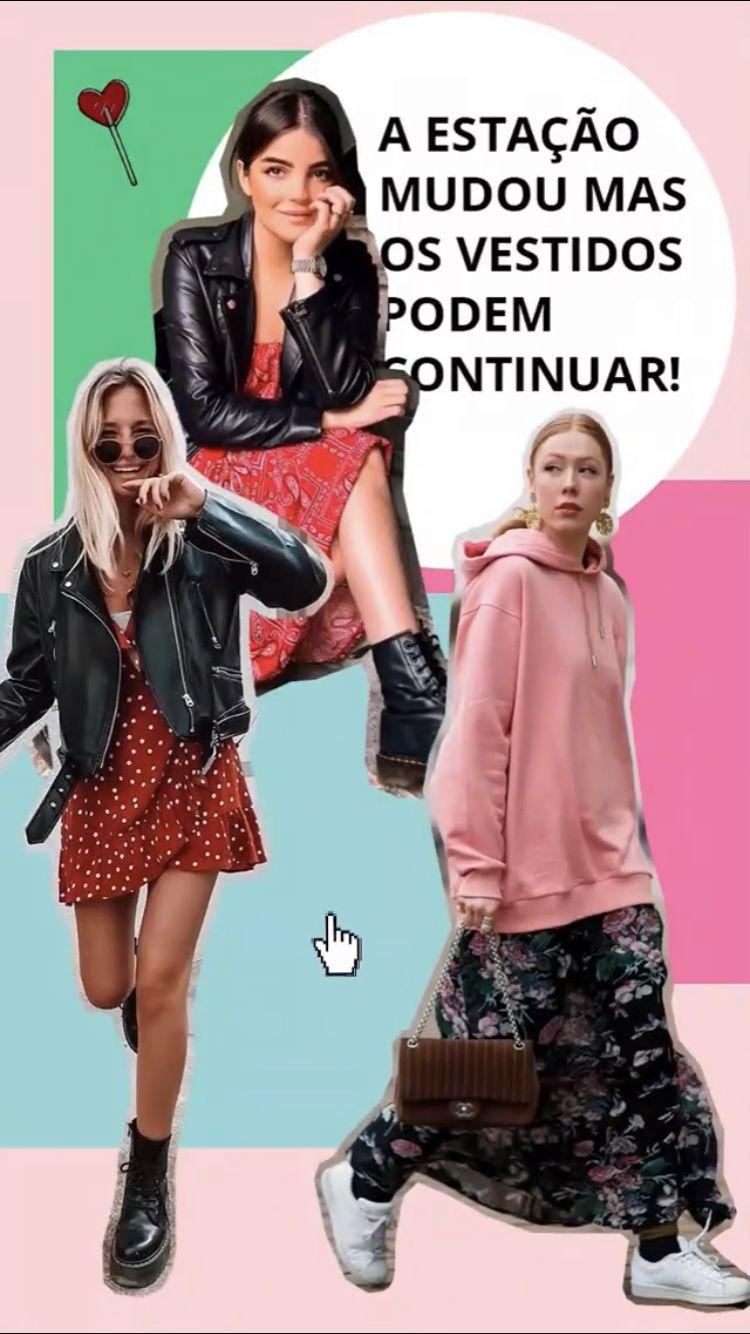 Looks De Meia Estação Com Vestido Para Se Inspirar Looks de Meia Estação Com Vestido Para Se Inspirar Woman Denim Jacket oversized denim jacket hoodie womans