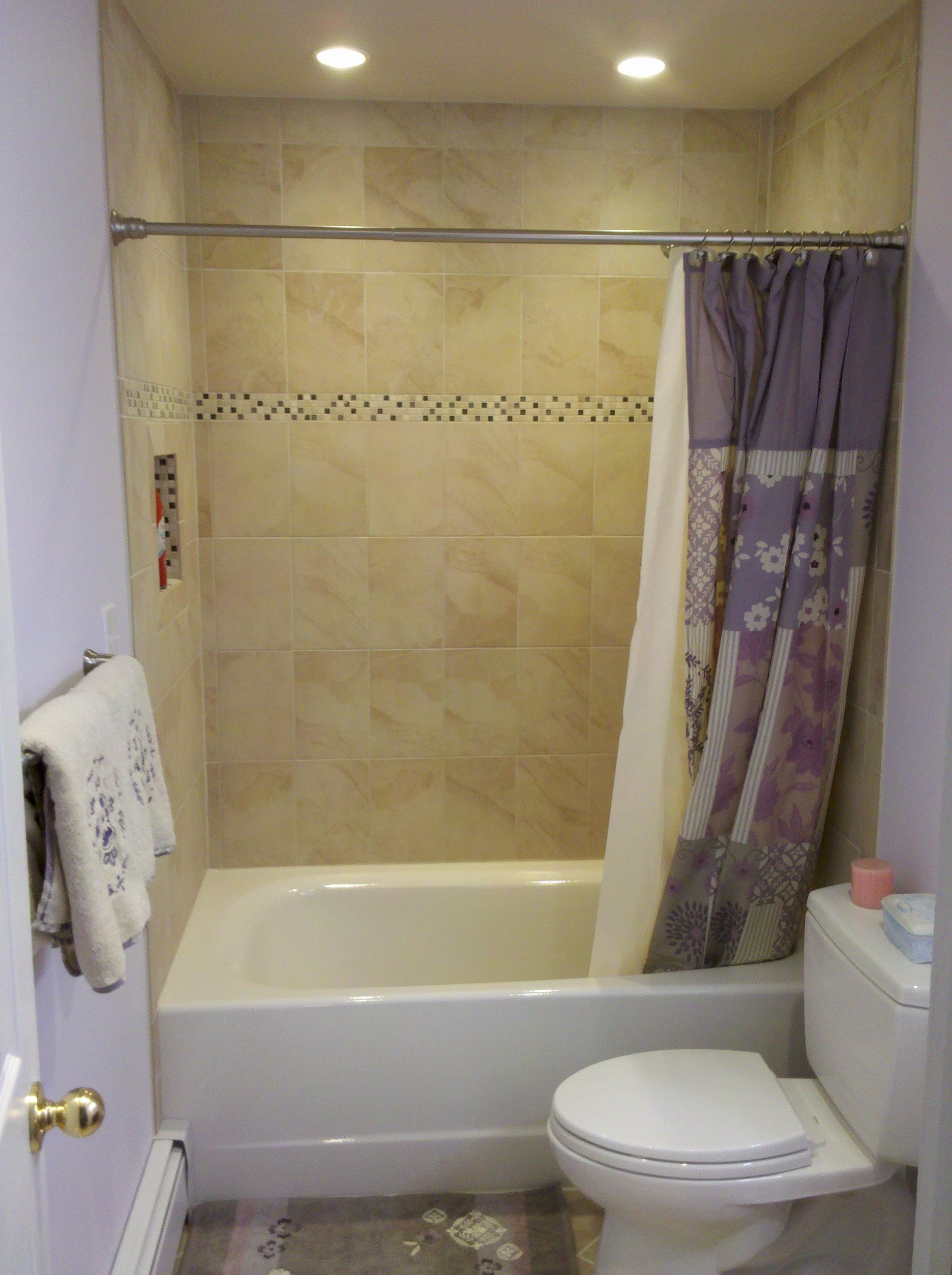 Bathroom Tub Surround Tile Decorating Ideas Pinterest