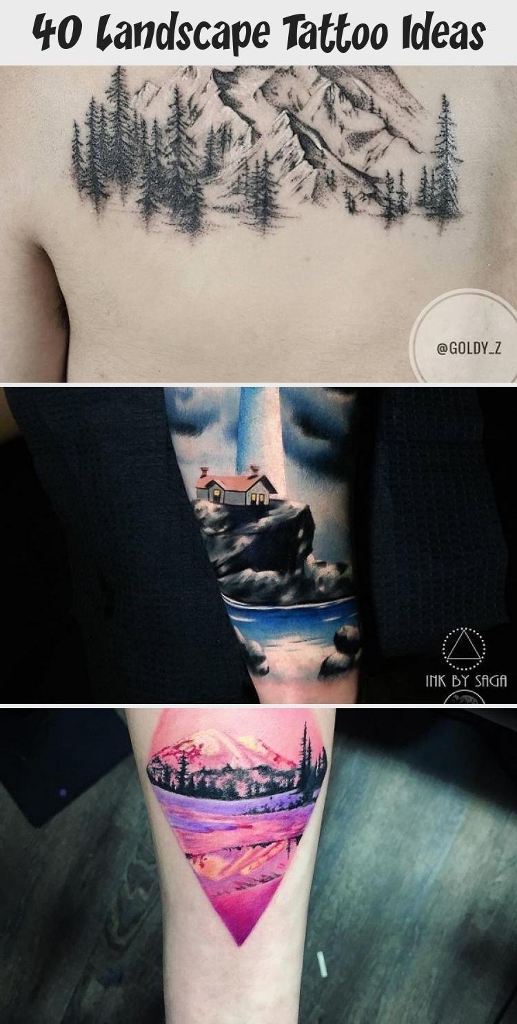 Photo of 40 Landscape Tattoo Ideas – Tattoos
