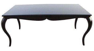 Esstische Schwarz barock esstisch schwarz hochglanz 180cm esszimmer tisch esstische