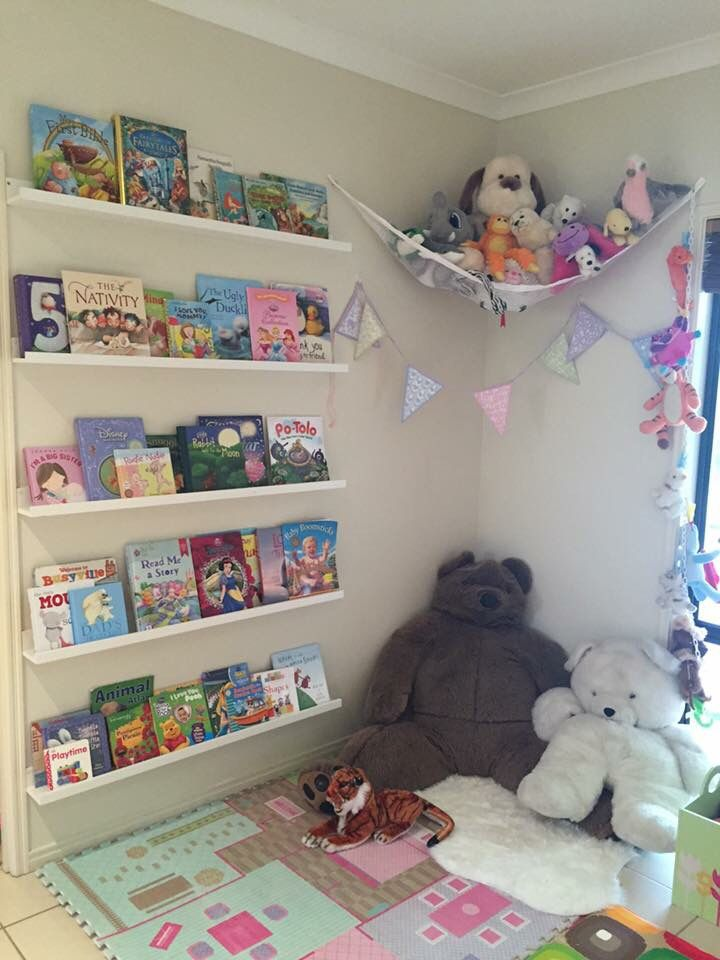 Room Filled With Soft Toys : Soft toy hammock … kids room in