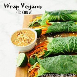 wrap vegano de couve, receita de wrap, receita de wrap de couve, aprenda a fazer wraps veganos de couve, receitas veganas, zona cerealista online, couve