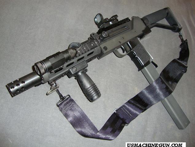 Heavly Moded Cobray MAC-11 SA   Survival   Guns, Submachine