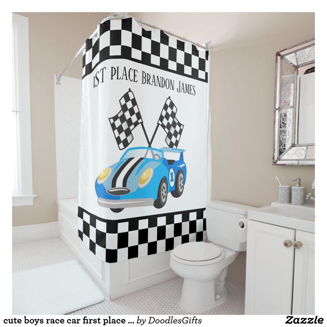 Pin On Kids Race car bathroom decor
