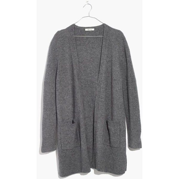 MADEWELL Kent Cardigan Sweater ($98) ❤ liked on Polyvore ...